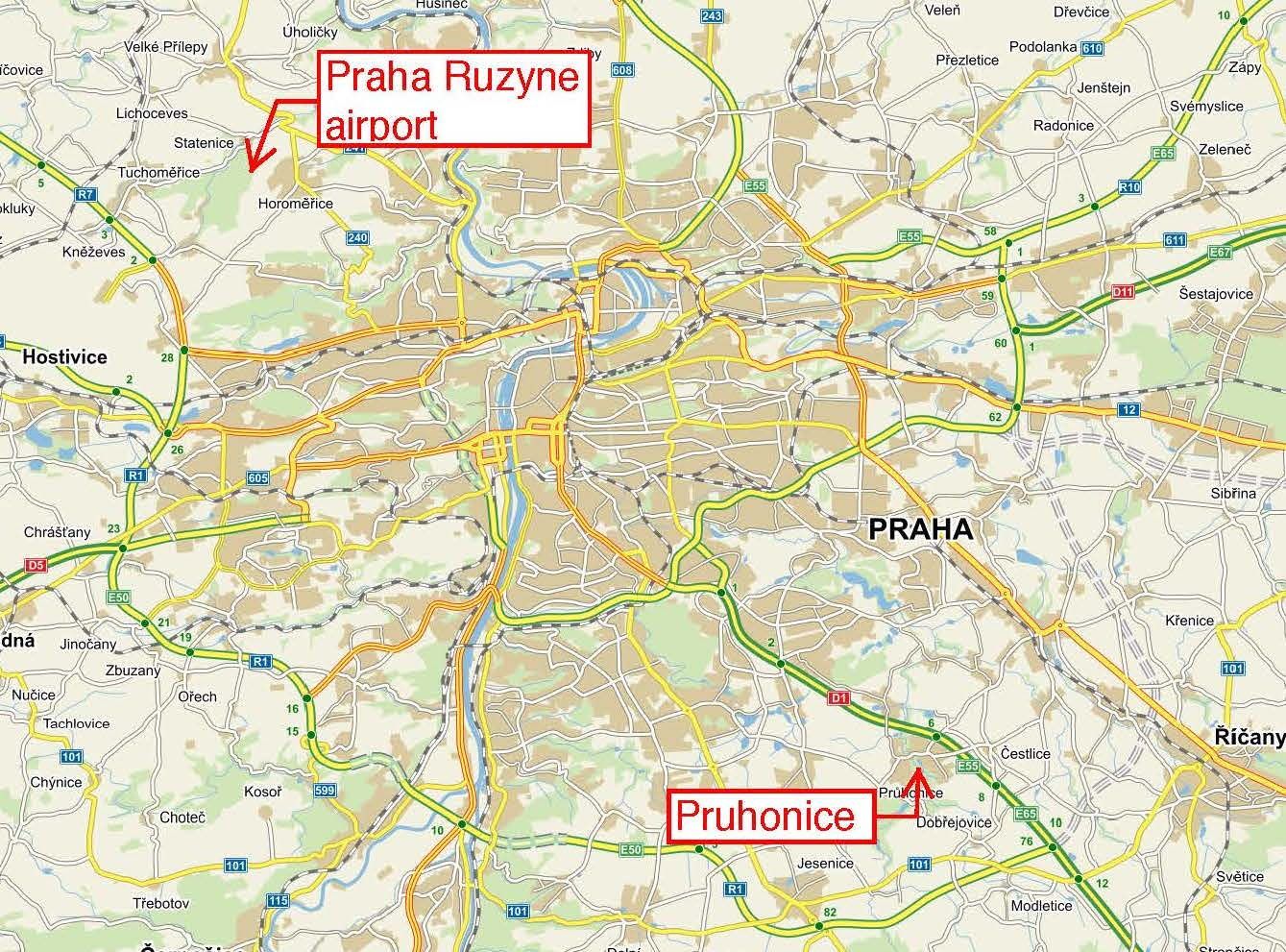 Regiojet Prague Vclav Havel Airport